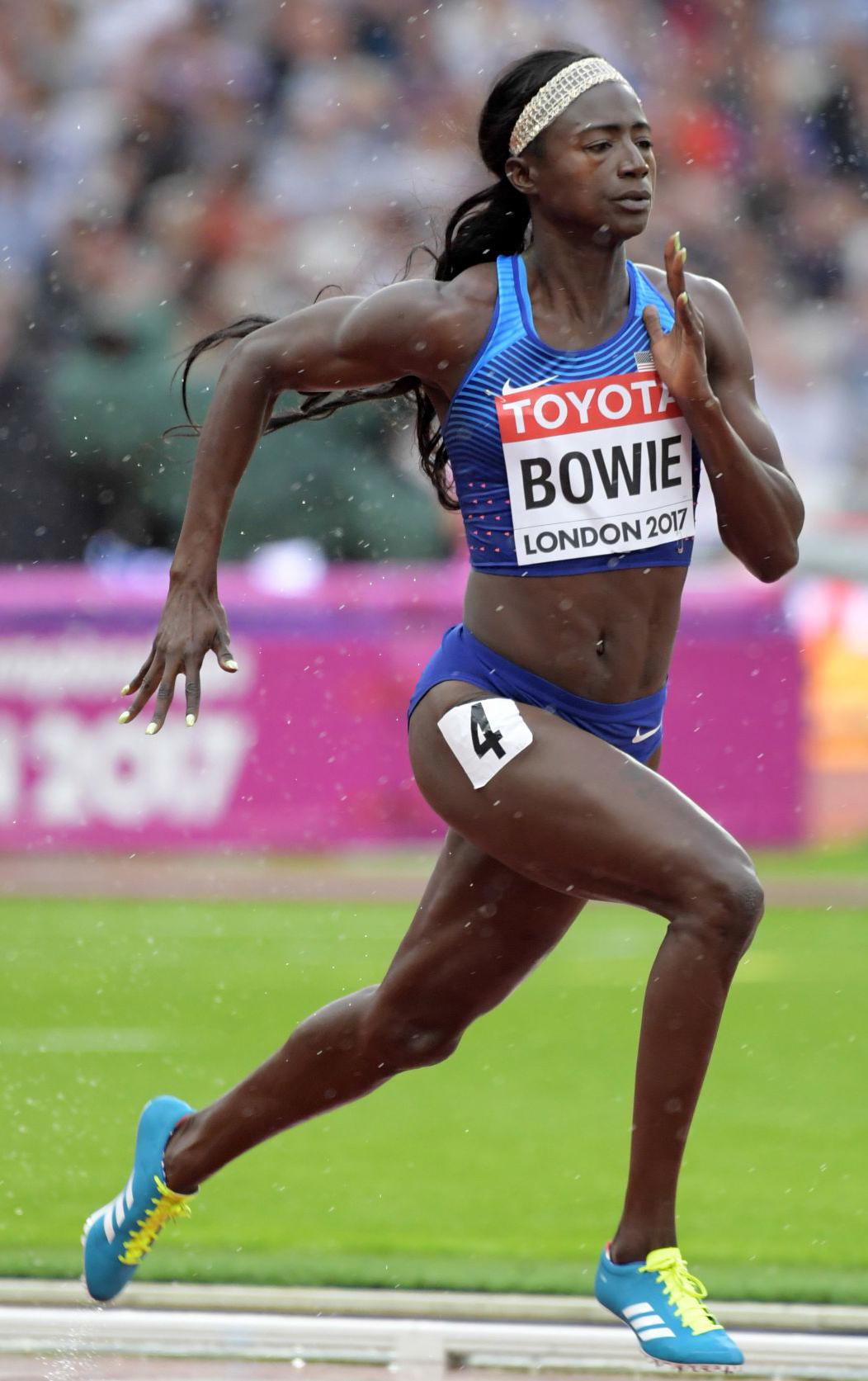 Tori Bowie Run