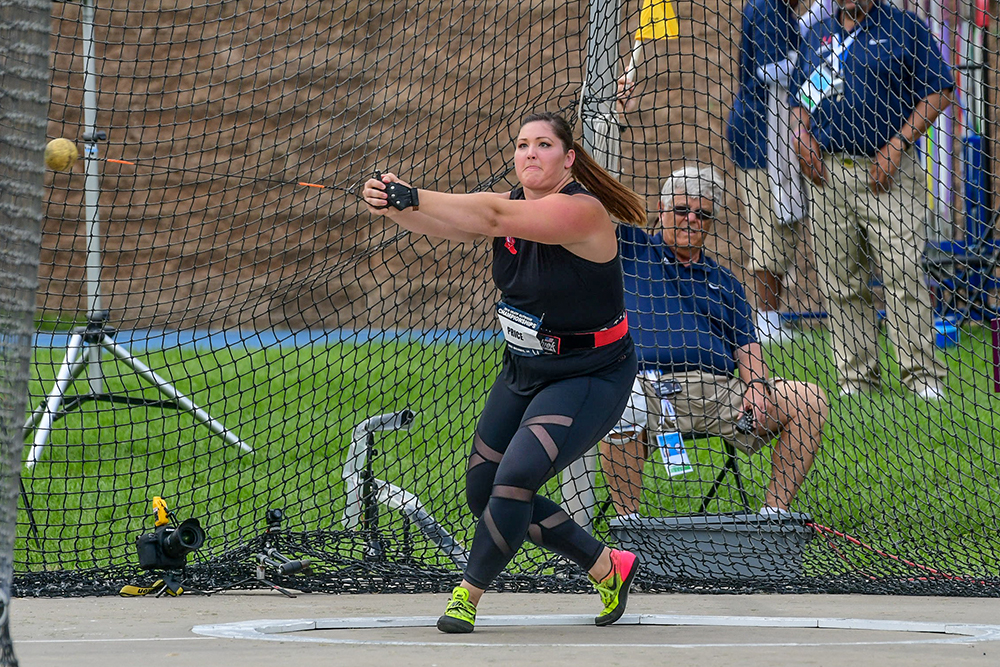 53a67b91501e0 USATF Women s Hammer — Price Recaptures The American Record - Track ...