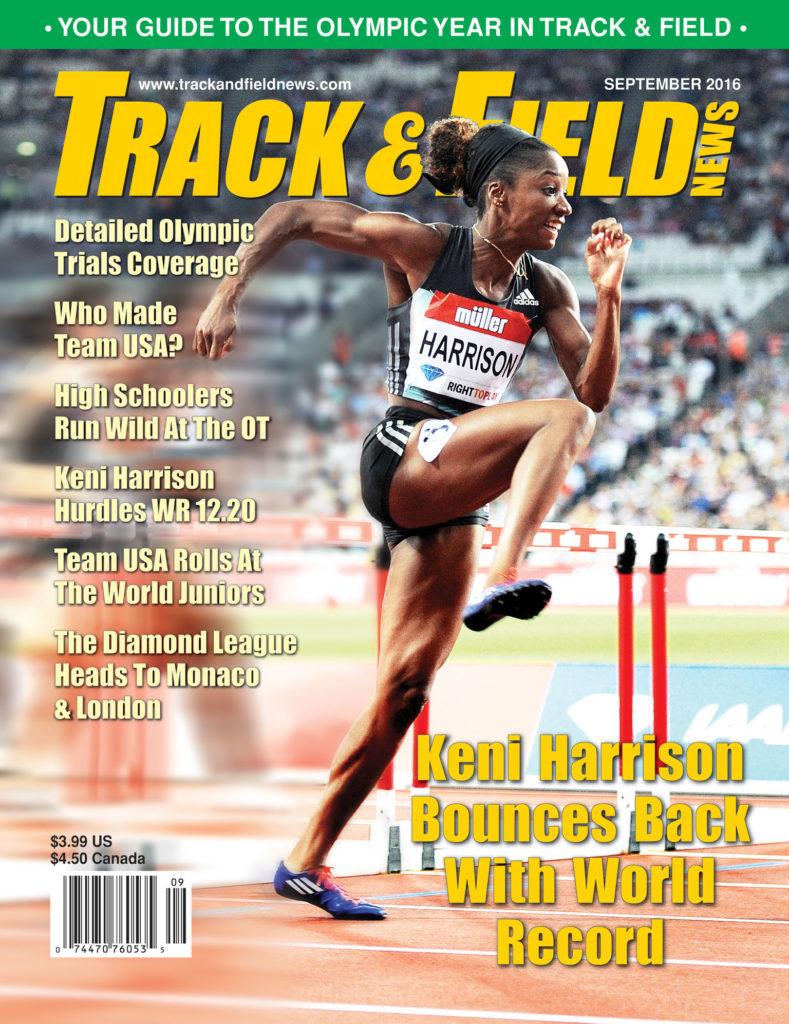 2016 09 Keni Harrison en busca de campeonatos ganados