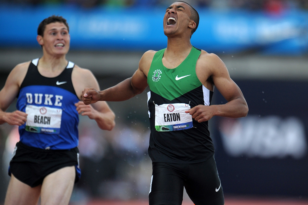 7e10574d946 Curtis Beach was with Ashton Eaton at the finish of his first WR  under  Gundersen