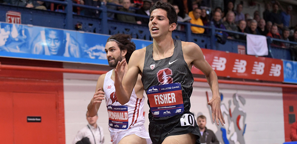 Stanford's Grant Fisher Has Multiple Options - Track & Field News