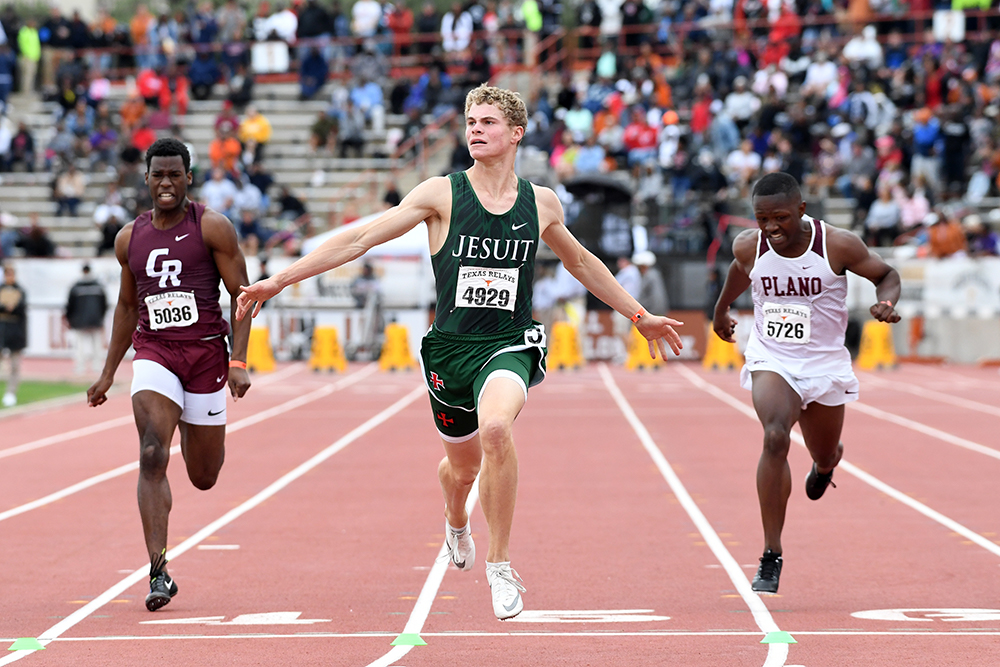 Sprinter/Jumper Boling Is The Talk Of High School Track