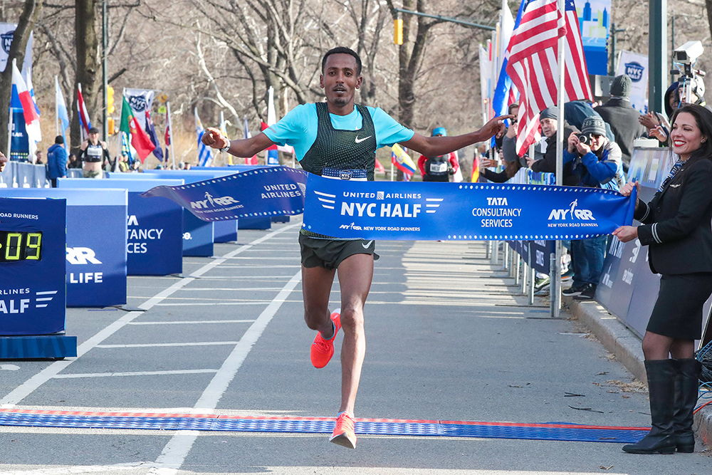 NYC Half-Marathon — Tilahun Steals The Show - Track & Field News