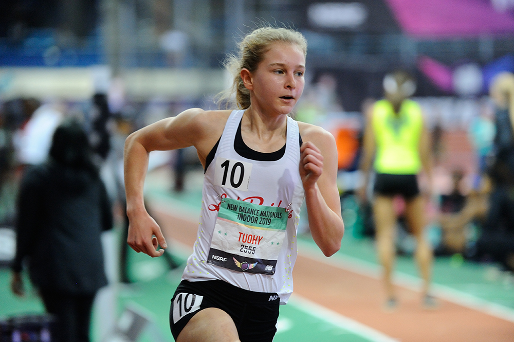 HS Girls Indoor Athlete Of The Year — Katelyn Tuohy - Track & Field News