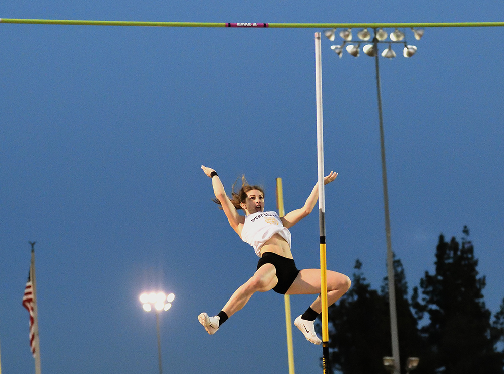 Arcadia Girls — Another HS High For Chloe Cunliffe - Track