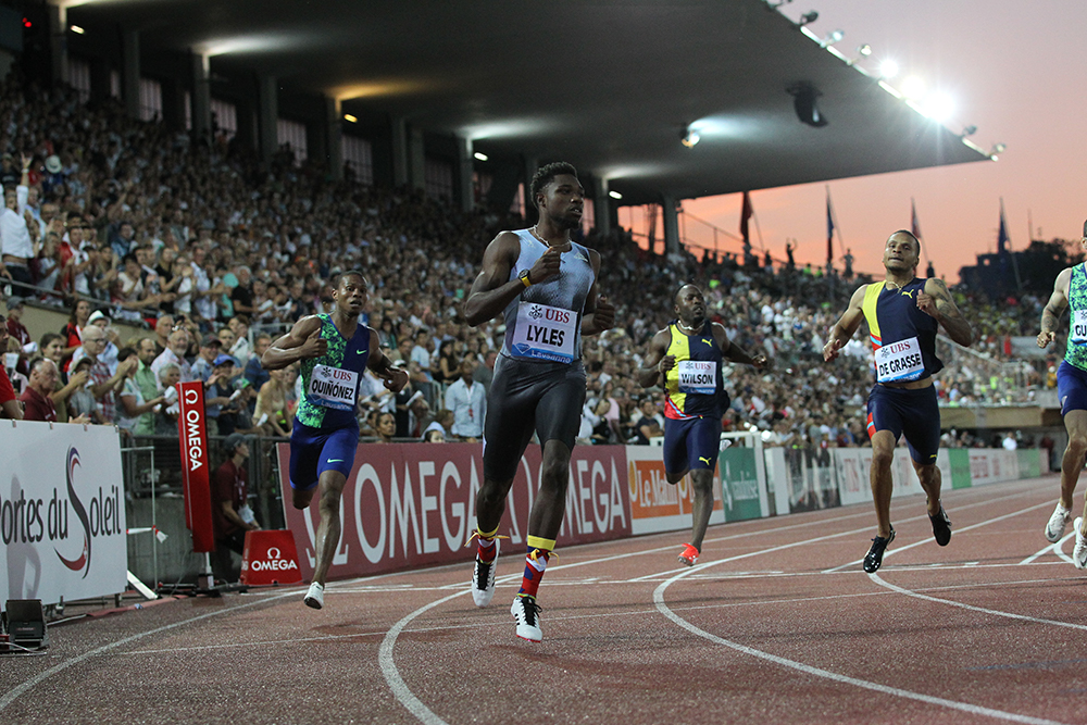 lausanne diamond league noah lyles in rare company