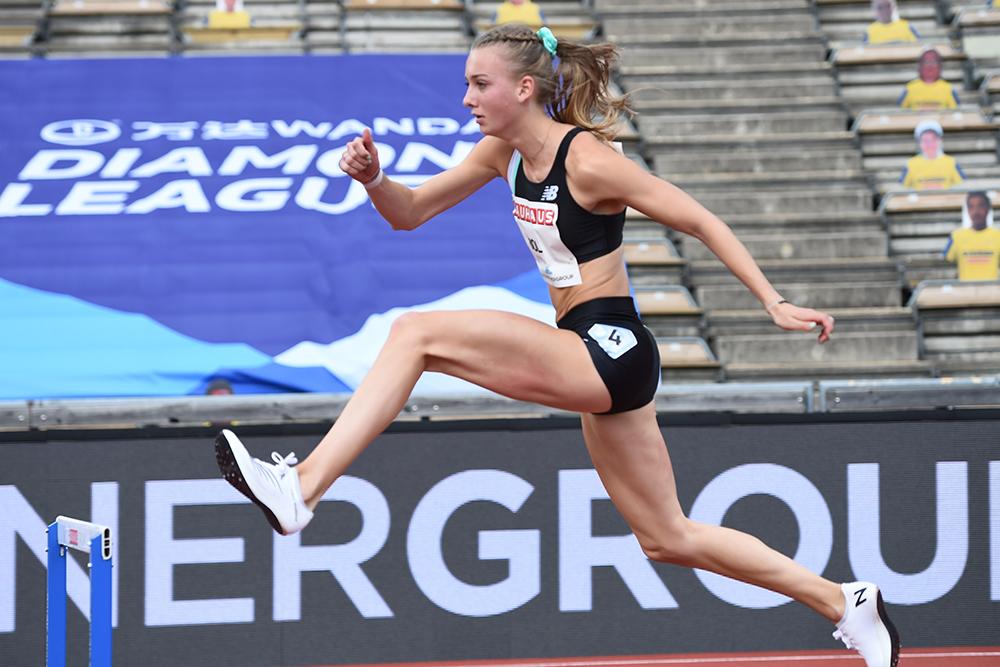 femke bol 01 21 - Podios mundiales de atletismo femenino 2020 de T&FN -