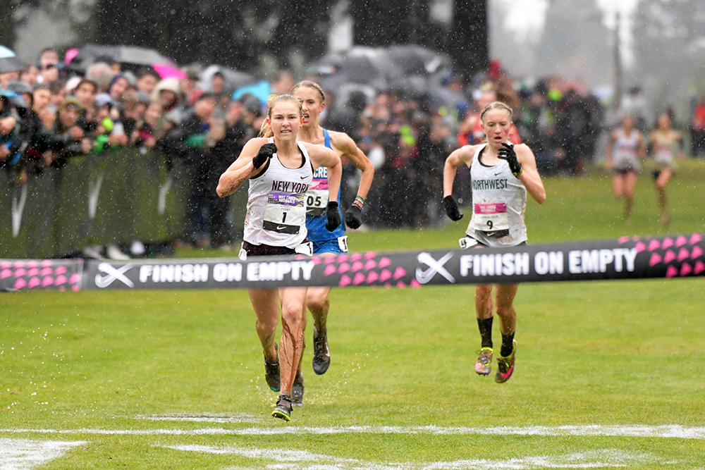 Nike Cross Nationals Girls — Record 3 In A Row For Tuohy - Track & Field News