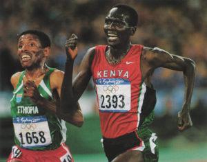 Geb Tergat Sydney OG 2000 Great Races — Geb Thrice Takes Tergat In Championship 10Ks