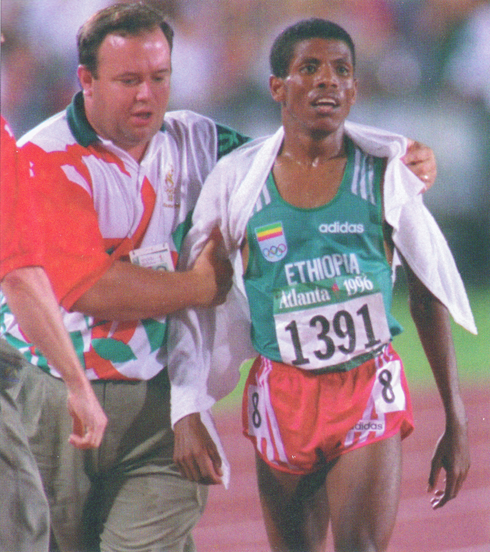 Gebrselassie Atlanta OG 1996 Great Races — Geb Thrice Takes Tergat In Championship 10Ks