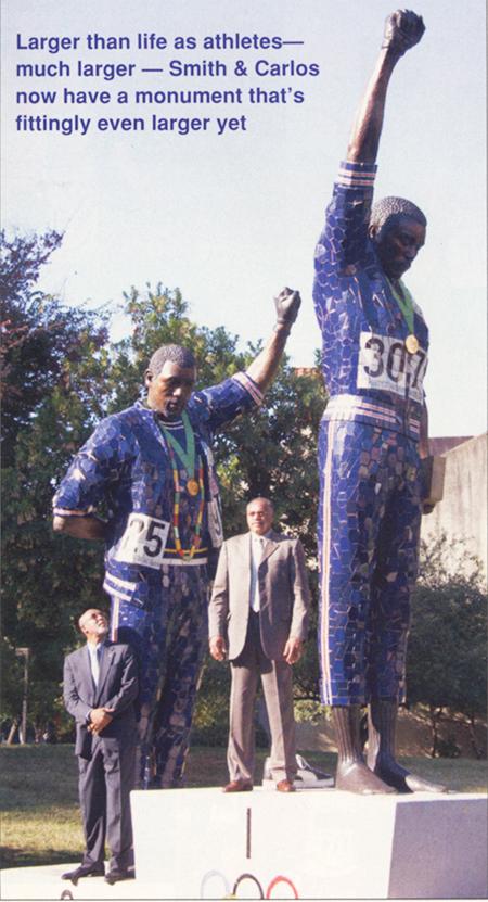 smith carlos statue 09 20 Opinión: Track & Field es diversidad, un valor que vale la pena defender