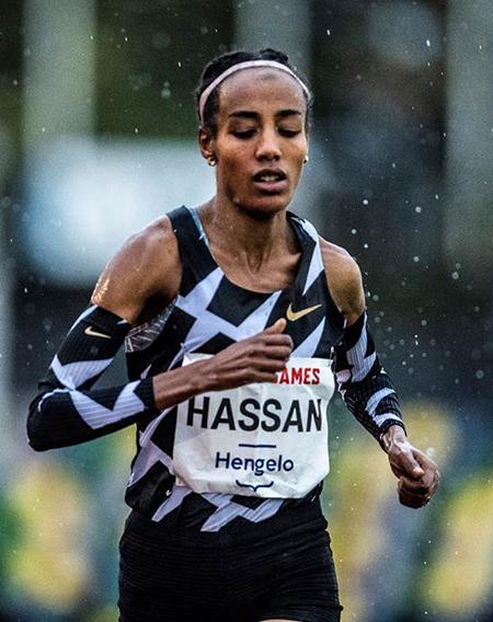 Sifan Hassan02 11 20 Hassan alcanza un nuevo récord europeo de 10.000 en Hengelo