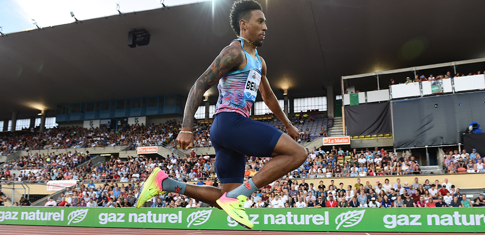 Chris Benard Brimming With Confidence - Track & Field News