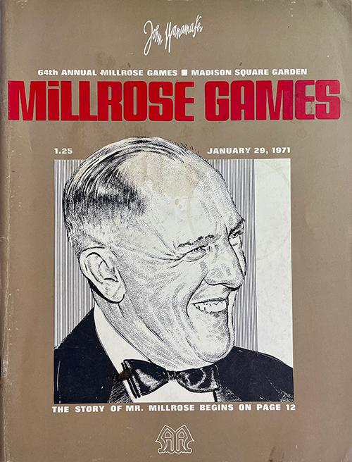 Millrose Jan 29 Hoy fue hace 50 años: se recuerda la temporada en interiores de Estados Unidos de 1971
