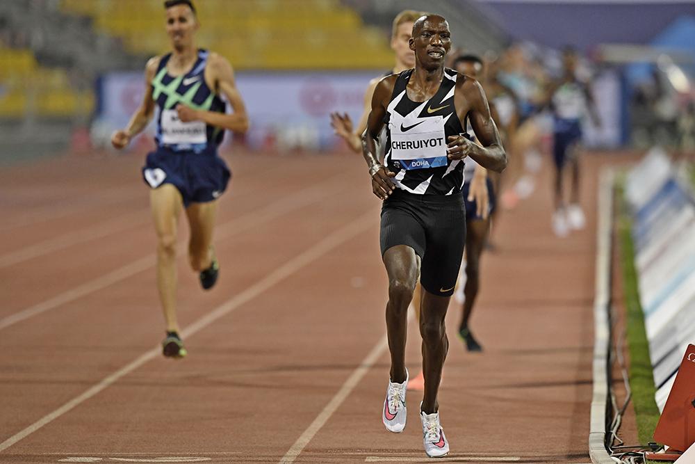 timothy cheruiyot 06 21 Doha DL - Una rápida victoria en 400 para Michael Norman